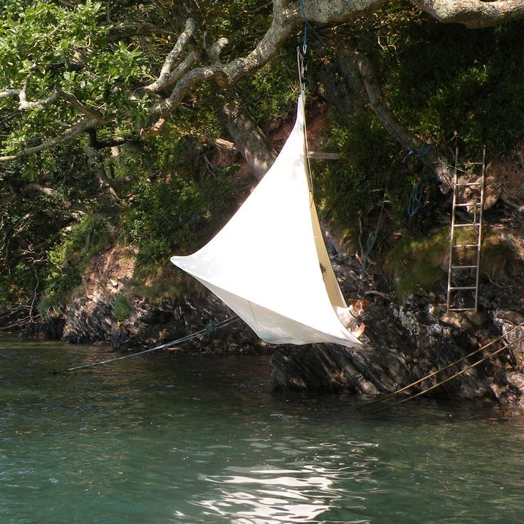Meet me down by the river. I'll be in my cocoon @ http://hammocktown.com/products/cacoon-hammock-for-sale