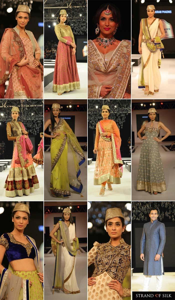 Indian Fashion - Indian Designer - Blenders Pride Fashion Tour 2012 - Vikram Phadnis