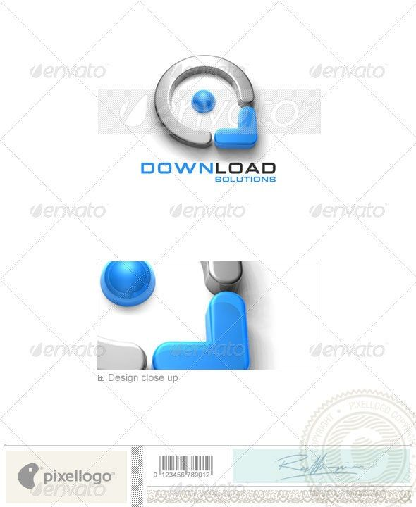 Technology Logo – 3D-163