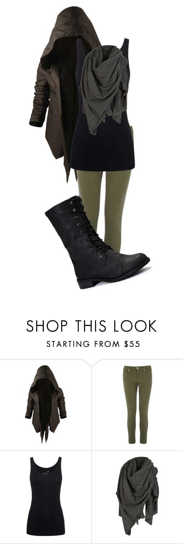 """female Robin hood"" by chantry-joy ❤ liked on Polyvore featuring Nicholas K, Warehouse, Juvia, AllSaints and Nature Breeze"