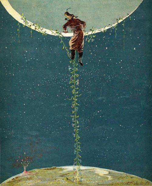 Vassilev Svetlin, ilustración para The adventures of Barón Münchhausen, Papadopoulos Publishing Atenas, 2005. http://www.yekibud.es/2013/09/29/travesias-lunares-i/: