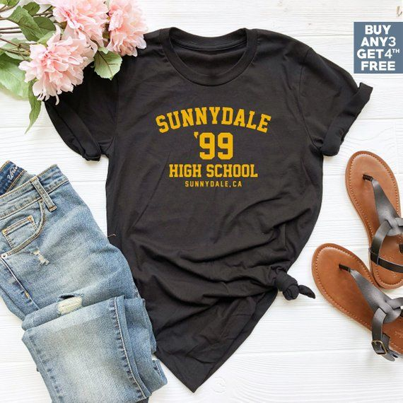 0236811efbd0ca Sunnydale Shirt High School Gifts Retro Geek Buffy the Vampire Slayer  Halloween Costume Women Tank Top Funny Gifts Women Tshirts