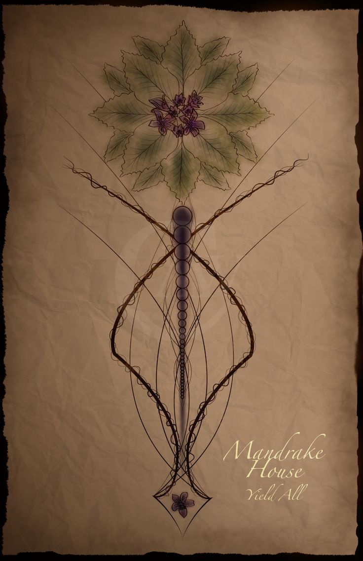 Mandrake House Marque By Strivingartist