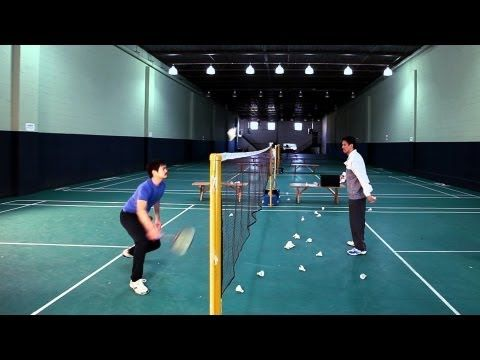 How to Do Training Drills | Badminton Lessons - YouTube