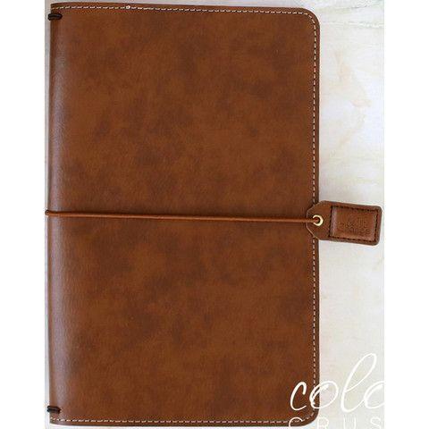 Walnut Color Crush Traveler's Notebook Planner-Webster's Pages