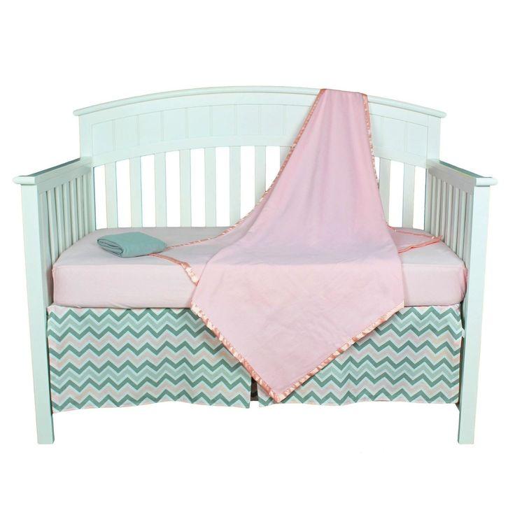 Best Pink Crib Bedding Sets Images On Pinterest Baby Beds - Baby girl zebra crib bedding sets