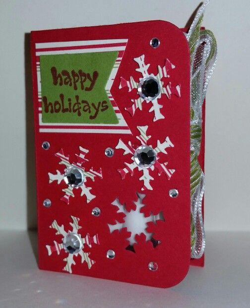 Mini Tic Tac holder- Christmas