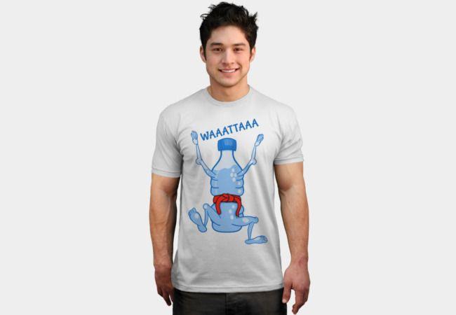 Water Bottle Karate T-Shirt - Design By Humans