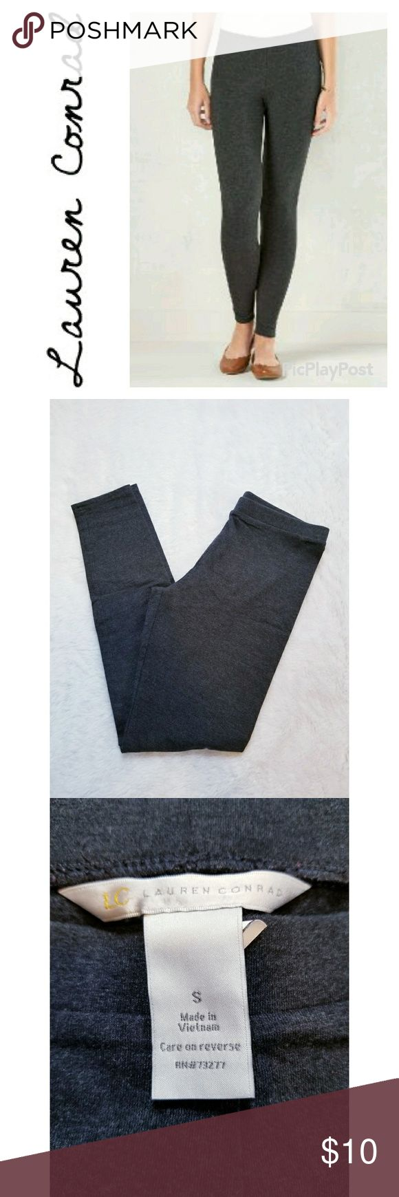 💥BOGO FREE💥 Lauren Conrad Charcoal Leggings Lauren Conrad brand solid charcoal leggings. Great pre-owned condition. 27 inch inseam. LC Lauren Conrad Pants Leggings
