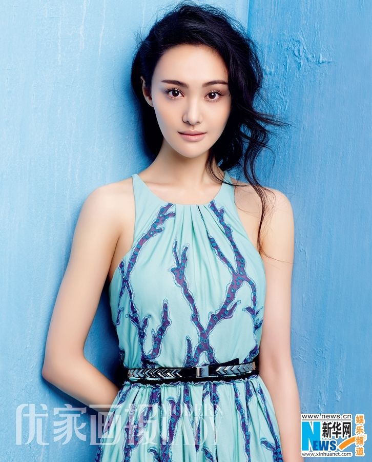 Chinese actress Zheng Shuang