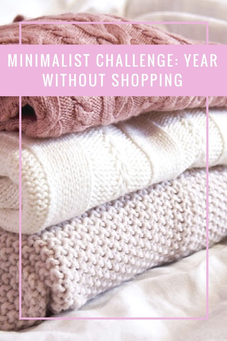 minimalist challenge: year without shopping