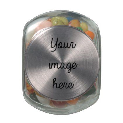 Personalized Candy Jar Glass Candy Jar - template gifts custom diy customize