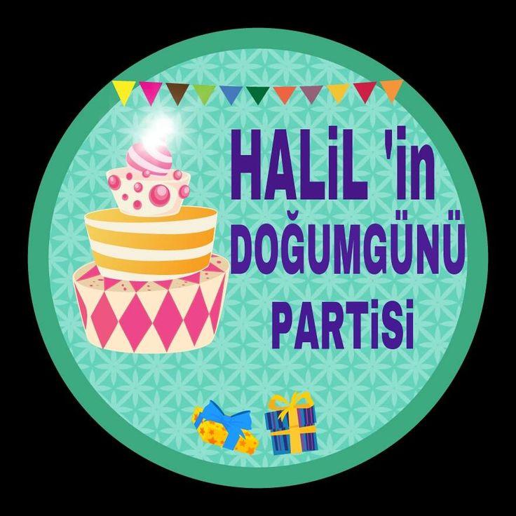 doğumgünü konuşma balonu - birthday party