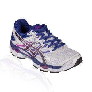 Asics - Gel Cumulus 16 Running Shoe - White/Black/Hot Pink