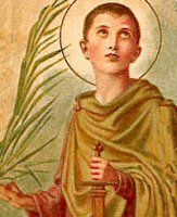 St. Pancras, martyr - May 12, 2015 - Liturgical Calendar | Catholic Culture