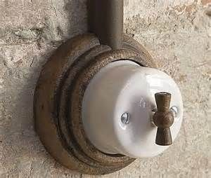 industrial vintage looking light switch - Fontini