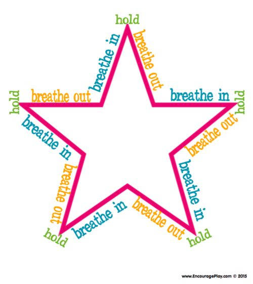 Handy image intended for star breathing printable