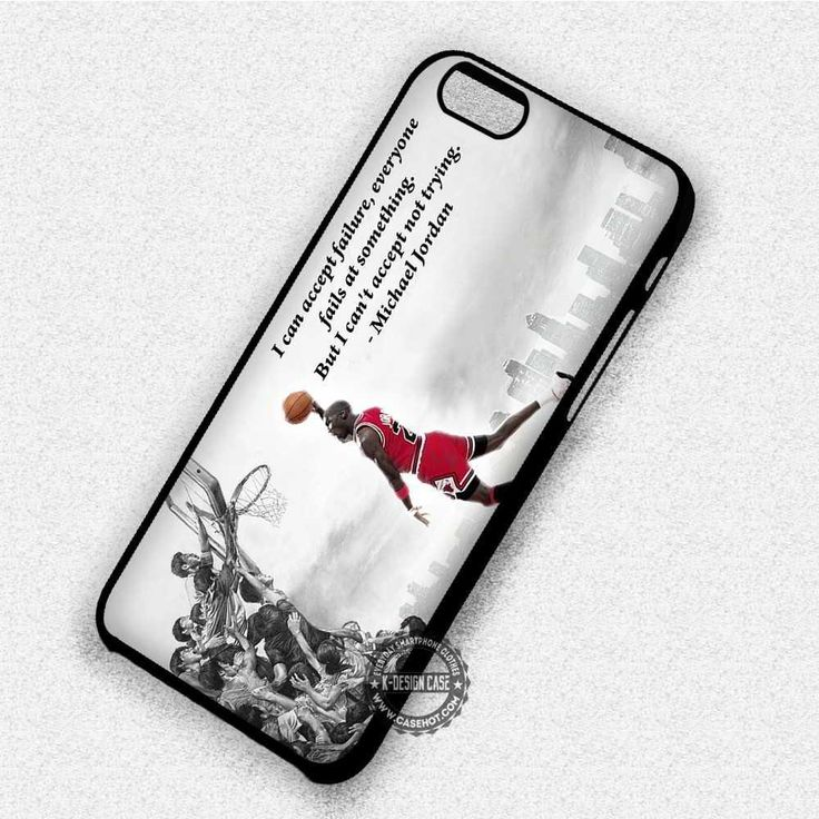 Can't Accept Not Trying - iPhone 8  7 6s SE Cases & Covers #quote #sport #michaeljordan #iphonecase #phonecase #phonecover #iphone7case #iphone7 #iphone6case #iphone6 #iphone5 #iphone5case #iphone4 #iphone4case #iphone8case #iphoneXcase #iphone8plus #paypal