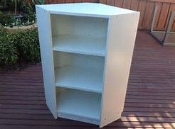 image result for corner unit with built in ikea billy bookshelves - Eckregal Dusche Ikea