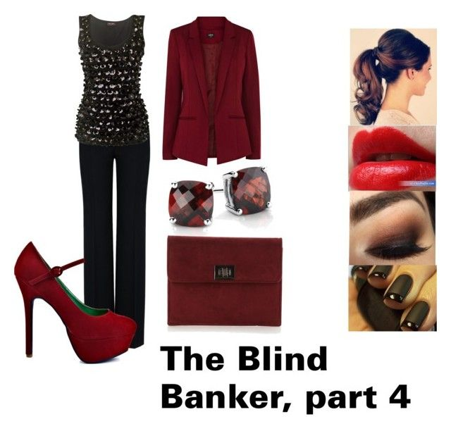"""""""Amelia Wilson, The Blind Banker, Part 4"""" by loulouflowerpower ❤ liked on Polyvore featuring STELLA McCARTNEY, Phase Eight, Clinique, Promise Shoes, Oasis, Arbonne, Blue Nile and Faith"""