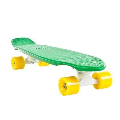 Skateboard Trottinette, skate, roller... - BIG YAMBA GREEN YELLOW OXELO - Trottinette, skate, roller...