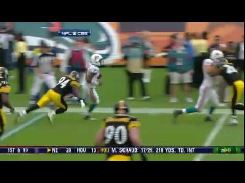 Ike Taylor illegal hit on Pat White