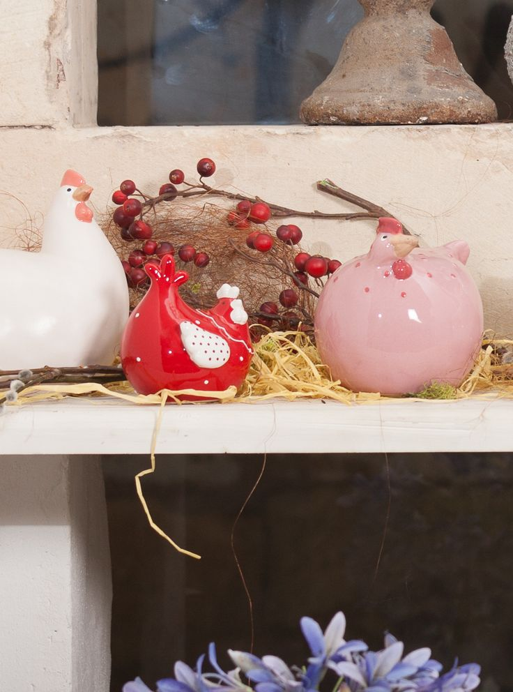Funky Chick Decorations at Chic Ville - All colors available
