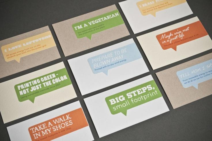 speech bubble business cards : Business u0026 Design ...