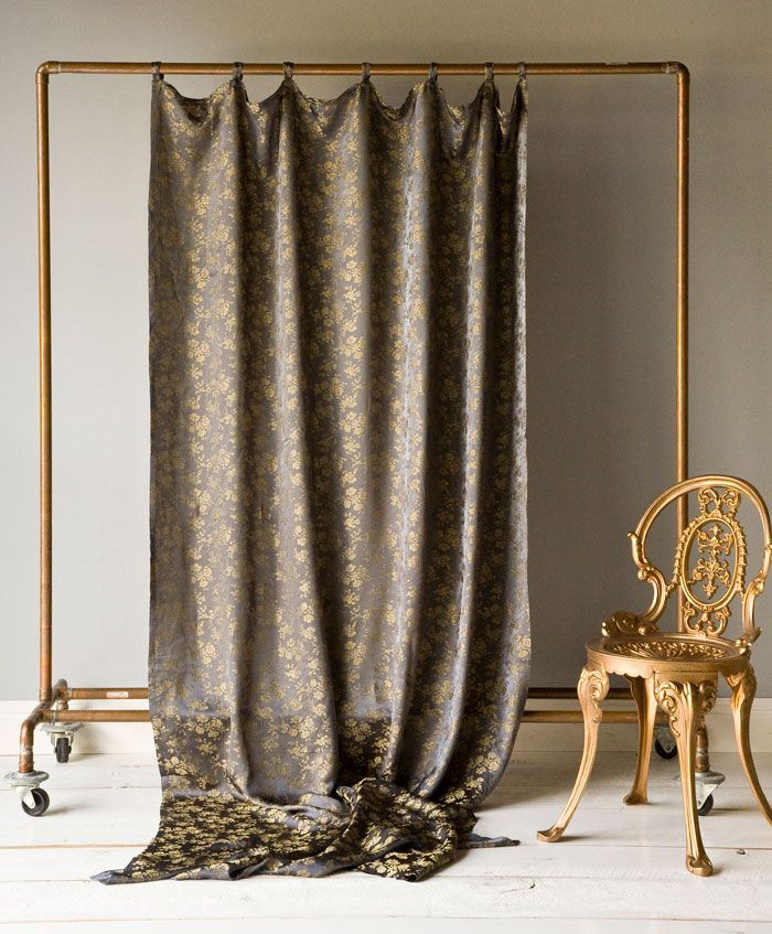 Curtains draperies bella notte linens bella notte for Curtain display ideas