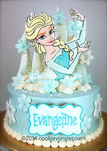 Эльза торт