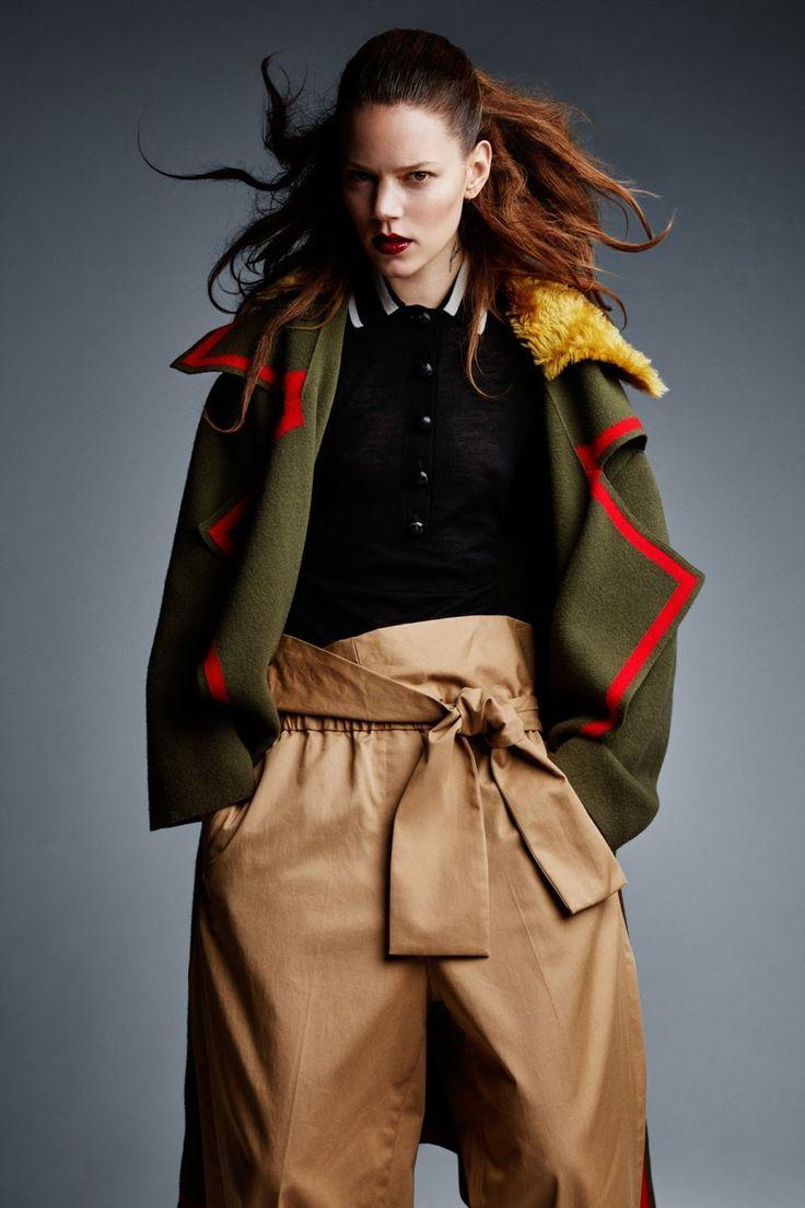 Smile: Freja Beha Erichsen in Vogue UK July 2016 by Patrick Demarchelier