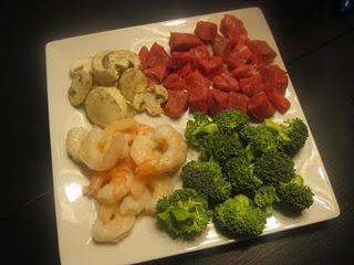 Homemade Fondue Dinner Idea