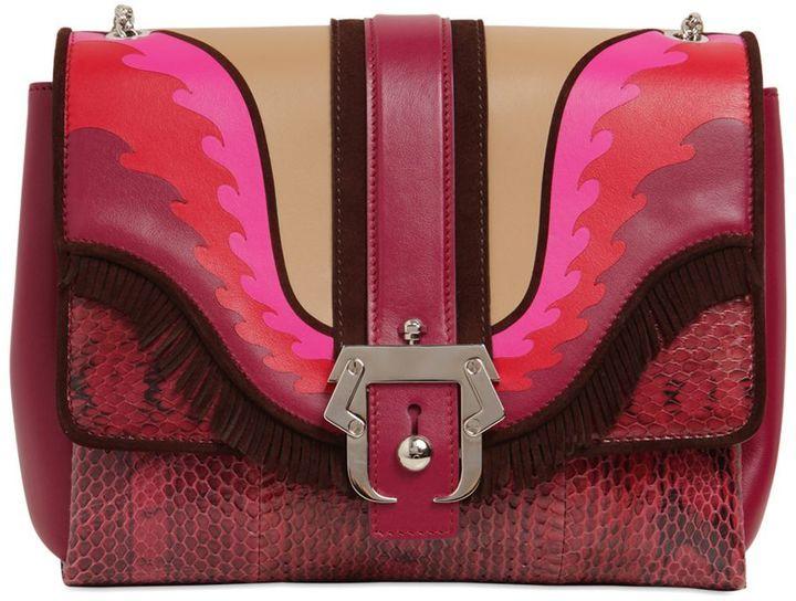 Alice Faye Ayers & Leather Shoulder Bag