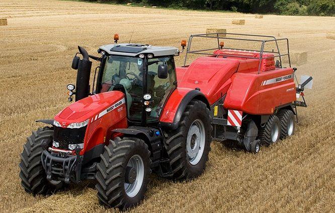 8650 Dyna-VT (Excellence) de la marque Massey-Ferguson - Tracteurs agricoles