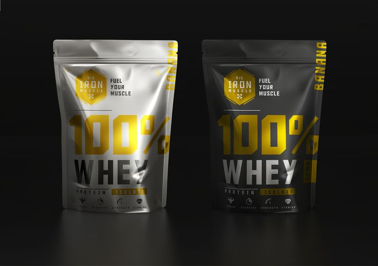 Big Iron Muscle on Packaging of the World - Creative Package Design Gallery