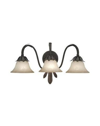 Designers Fountain Lighting 9223 ORB Alora Collection 3 Light Bath Wall Sconce in Oil Rubbed Finish - Quality Discount Lighting