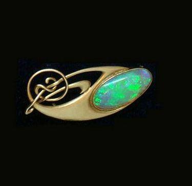 Archibald Knox opal