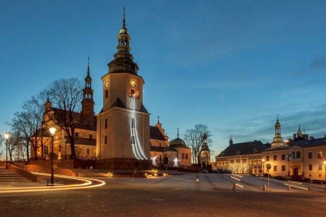 Historic town Kielce, Poland