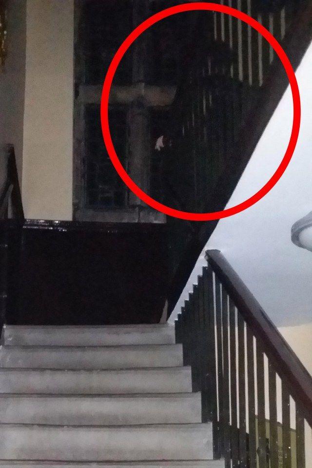 Woman in Black ghost