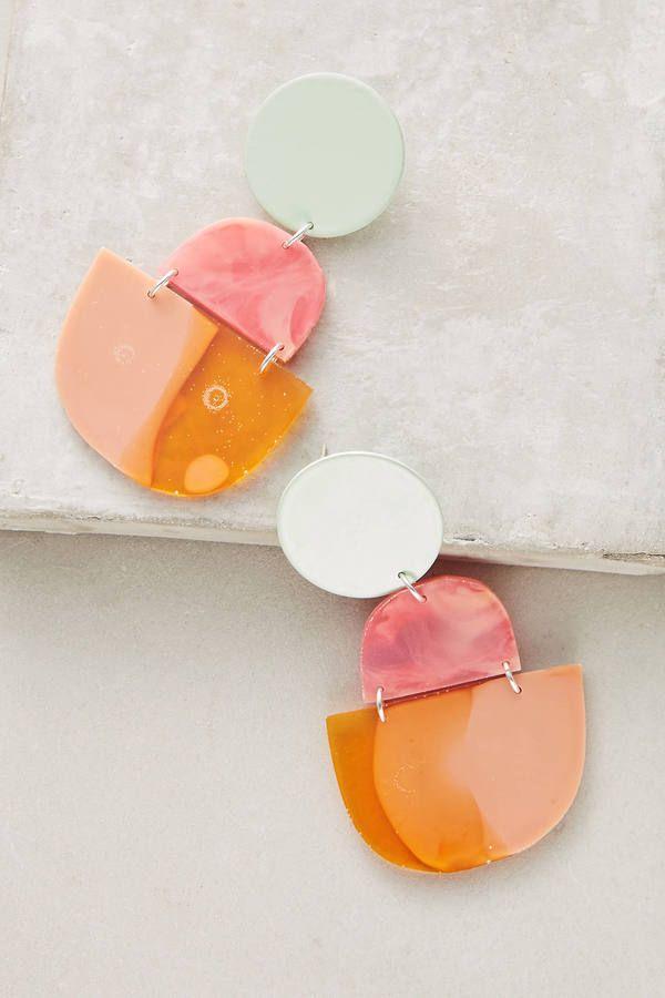Bianca Mavrick Albury Earrings statement summer earrings festival wear fun large earrings colorful