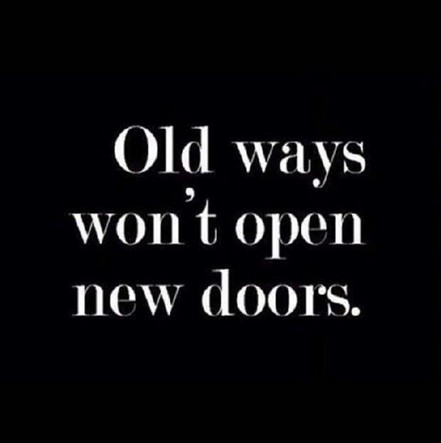 Old way s