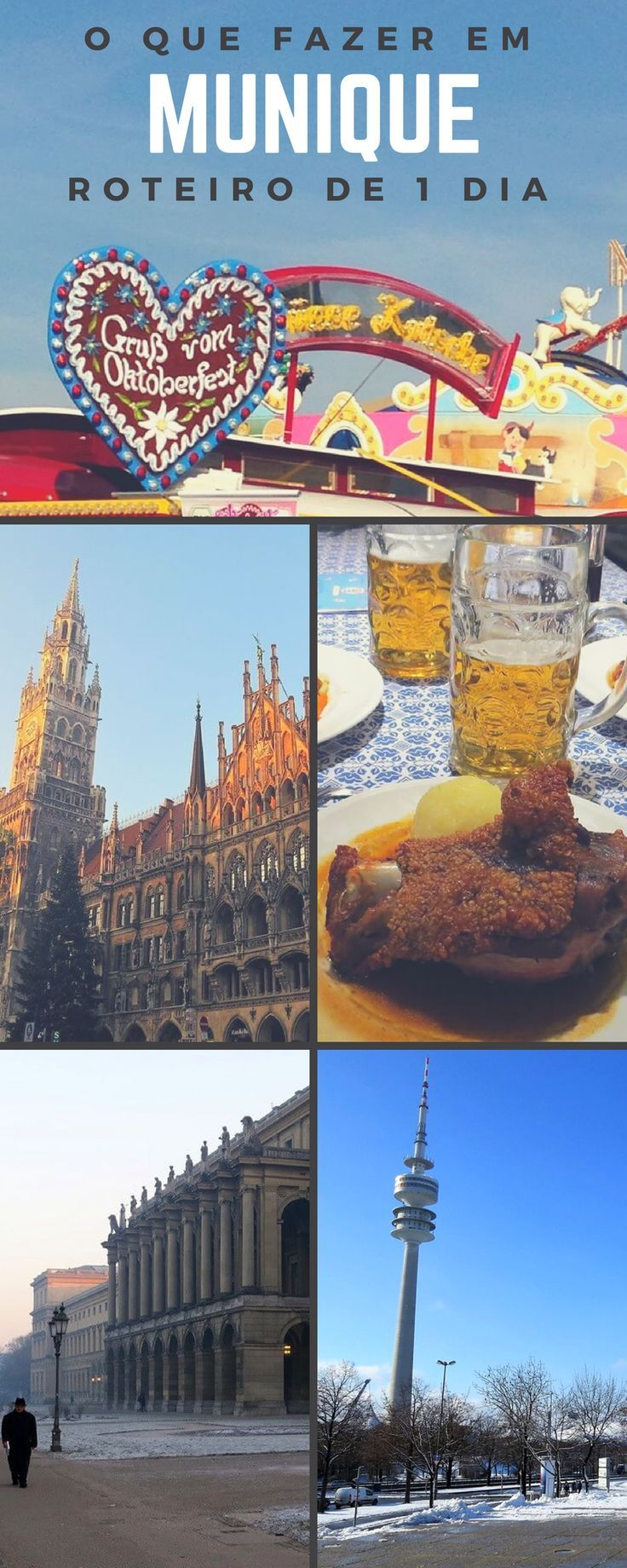 Roteiro de 1 dia em Munique – O que ver e fazer na cidade