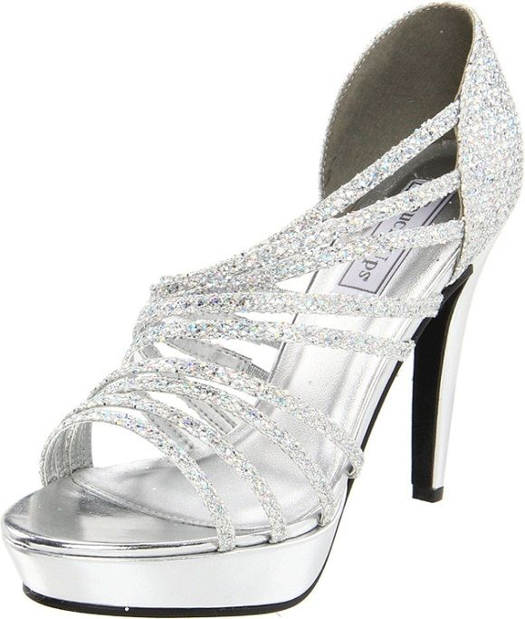 Best 20 Silver Wedding Shoes Ideas On Pinterest