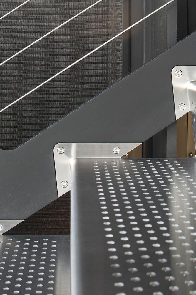 ...  Architettura moderna, Illuminazione di scale e Progettazione scale