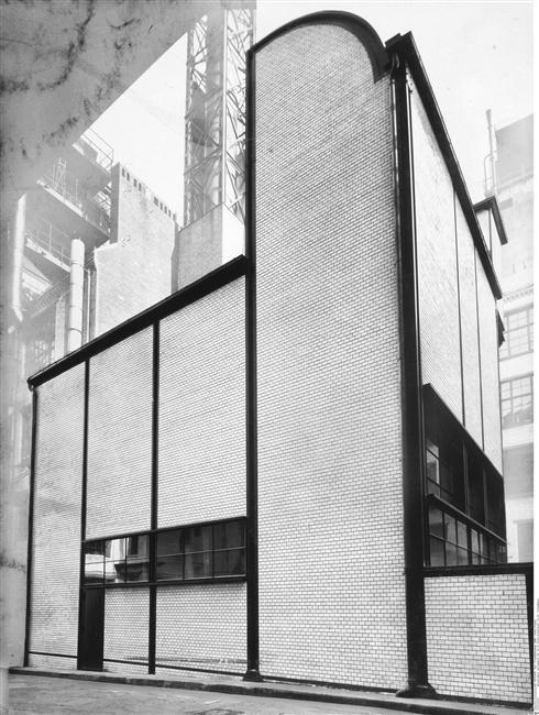 """""""Mosse"""" store, Berlin - transformed in 1921-1924 by Erich Mendelsohn / Berlin, Kunstbibliothek (SMPK)"""