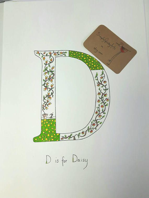 Check out this item in my Etsy shop https://www.etsy.com/uk/listing/478650229/nursery-letter-wall-art-hand-drawn-art