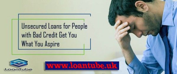 #Badcredit situations are overwhelming and can often test you through the times. With the #unsecuredloans for the bad credit people, obviously, you have much to look around and enjoy your financial stability.  Read more visit :- http://loantube.livejournal.com/2405.html
