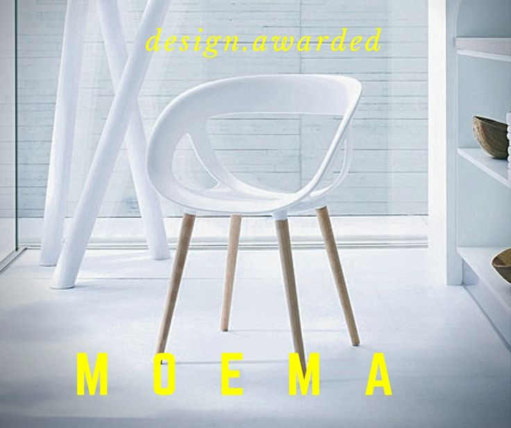 Cozy, with a stylish wrap around design: this is Moema. An amazing chair awarded with the Good Design and Red Dot Design. Design Stefano Sandonà. www.gaber.it #gooddesign #reddotdesign