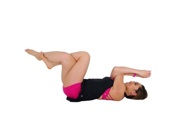 pilates zandloperfiguur