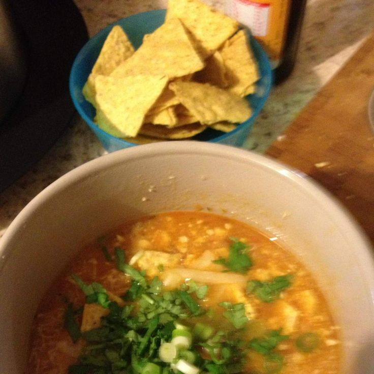 Recipe Chicken Tortilla Soup by ssgabali - Recipe of category Soups